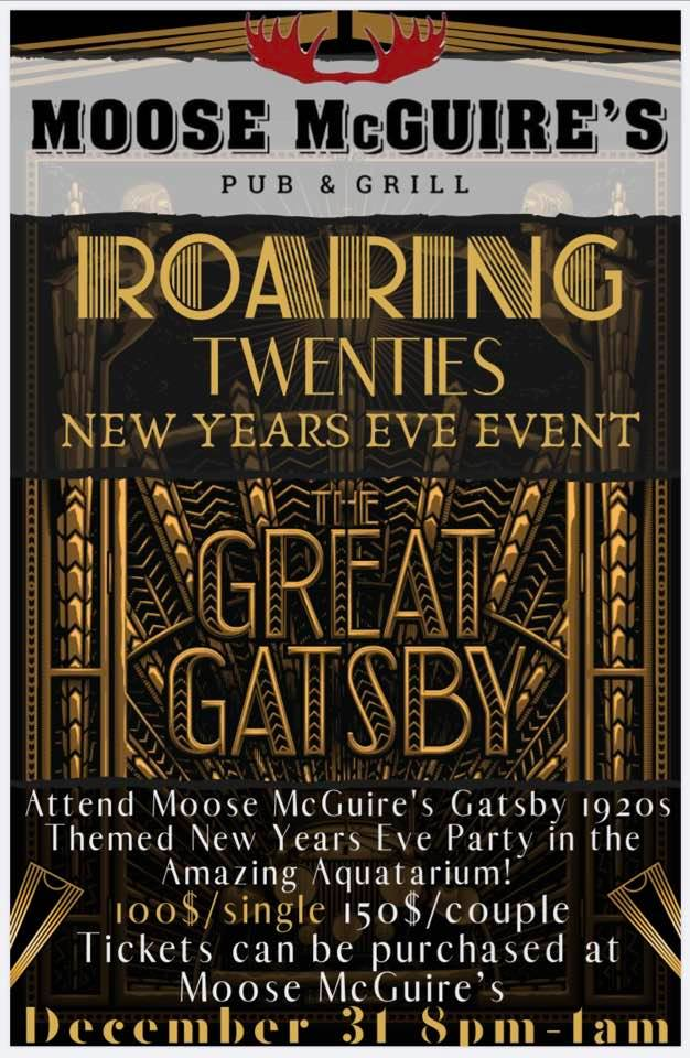 Great Gatsby Gala at the Moose McGuires Brockville